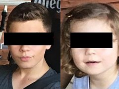 Policisté pátrali po čtrnáctiletém chlapci a jeho dvouleté sestře. Obě děti nakonec vypátrala maďarská policie na letišti v Budapešti.
