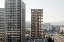 Výškové budovy na Šumavské ulici v Brně. Ilustrační foto.