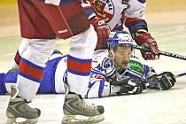 Útočník hokejové Komety Kamil Brabenec