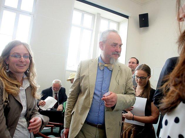 Andrej Zubov na brněnské Fakultě sociálních studií.