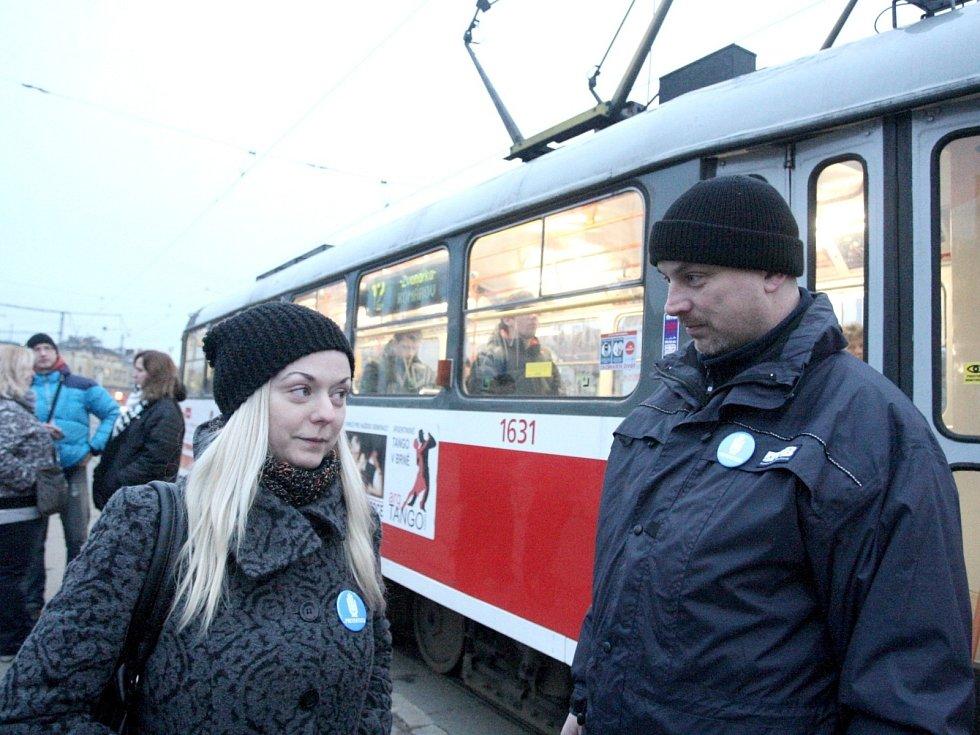 Redaktorka Rovnosti Vladimíra Krejsová si vyzkoušela práci preventistů brněnského dopravního podniku.