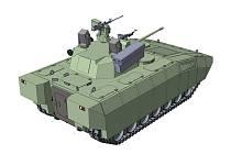 Brněnská firma připravuje projekt Wolfdog. Transportér od Zetoru má vozit vojáky.