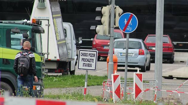 Dopravní komplikace. Ilustrační foto.