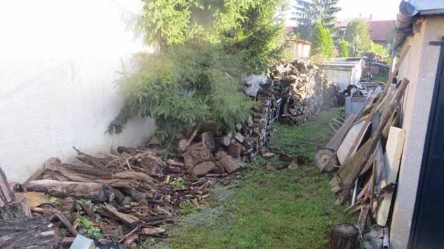 V Ivančicích zloděj ukradl jeden a půl kubíku dřeva