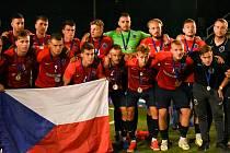 Česká reprezentace do 23 let získala na mistrovství světa v malém fotbale stříbro.