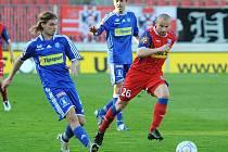 1. FC Brno vs. Sigma Olomouc.