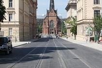 Rekonstrukce Husovy ulice.