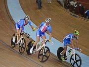 Tomáš Bábek a Robin Wagner z Dukly Brno se chystají na start mistrovství světa