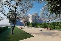 Park Bedřich v brněnském Lískovci získá nové lavičky, zeleň i herní prvky. Otevřít by ho měli na jaře 2022.