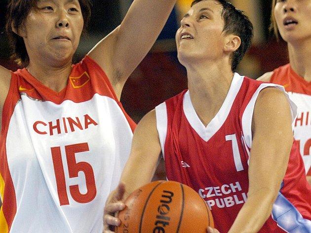 Basketbalistka Romana Hamzová.