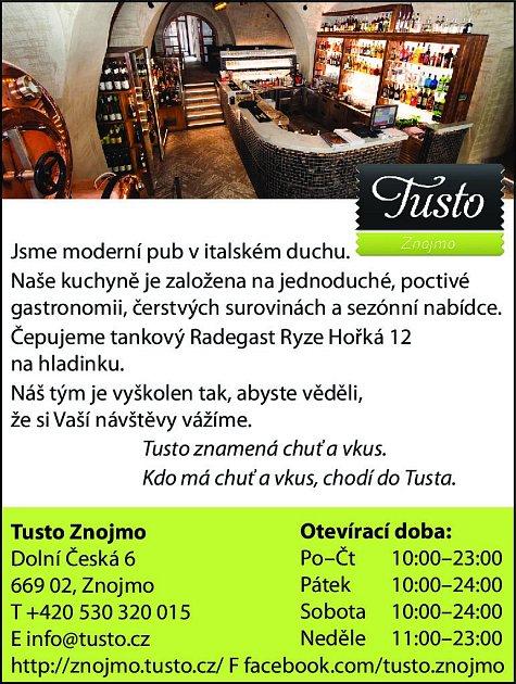 19. Restaurant Tusto Znojmo