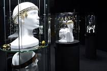 Pohled do expozice výstavy.