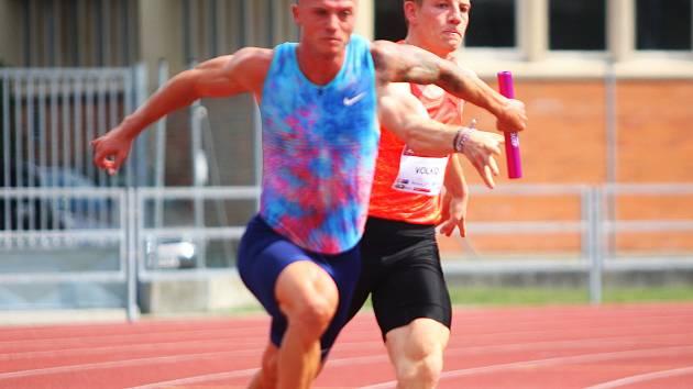 Jan Veleba je aktuální česká sprinterská jednička.