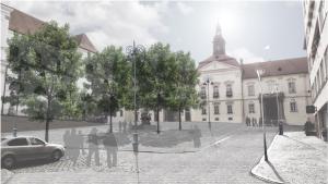 Vizualizace nové podoby Dominikánského náměstí