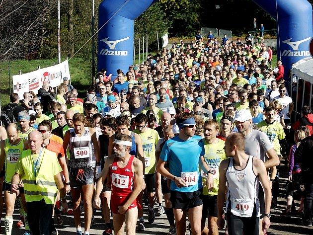 Běžecký závod Mizuno Podzimní 10. Ilustrační foto.