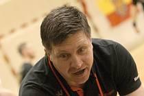 Trenér Andrej Titkov.