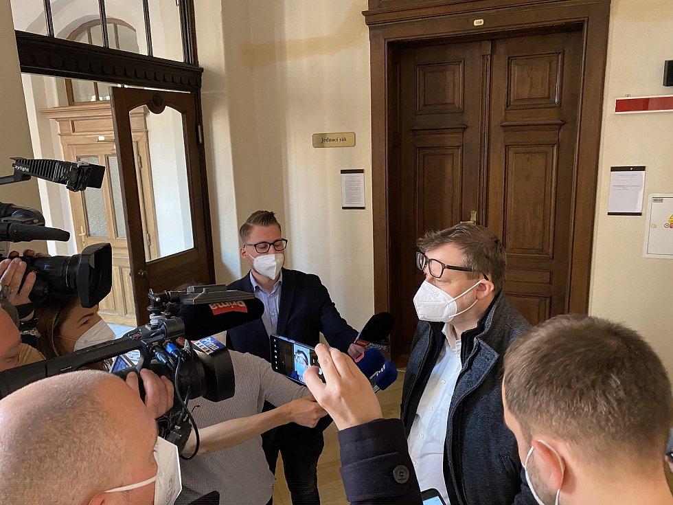 Krajský soud v Brně ve středu rozhodoval o žalobě na Svatopluka Bartíka za jeho nepravdivý výrok o zdravotním stavu prezidenta Miloše Zemana.