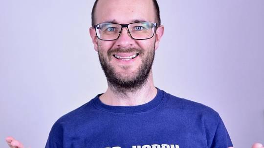 Brňan Bronislav Sobotka učí angličtinu i přes YouTube.