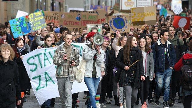 Stávka studentů za klima