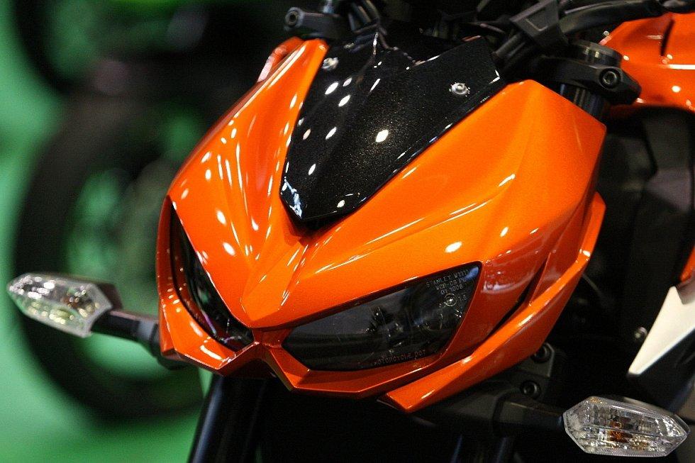Mezinárodní veletrh motocyklů, čtyřkolek, příslušenství a oblečení Motosalon potrvá na výstavišti do neděle 9. března.