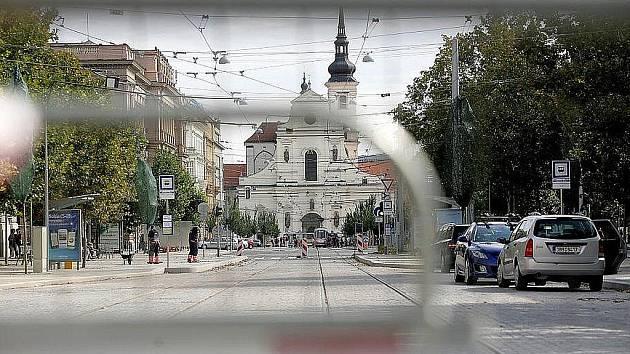 Jedna z největších oprav ulic v dějinách Brna - Joštova ulice.