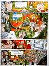 Brněnský Dům umění zahájil očekávanou výstavu Signály z neznáma, která představuje devadesátiletou éru českého komiksu.  Menší paralelní výstava vznikla také pro Muzeum ve Šlapanicích na Brněnsku (na snímku).