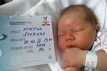 Viktor Svoboda, 11. 10. 2021, Hustopeče, Nemocnice Břeclav, 4040 g, 52 cm
