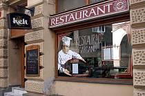 Restaurace Gargano v centru Brna.