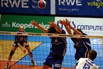 Volejbalisté RWE Brno podlehli Benátkám 0:3.