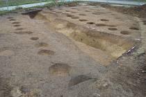 Archeologové bádali v prostoru budoucí konečné zastávky tramvaje v bohunickém kampusu.