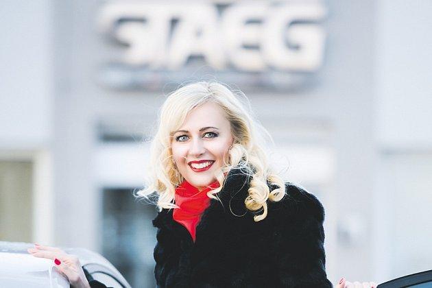 Sylva Macháčková, ředitelka společnosti STAEG