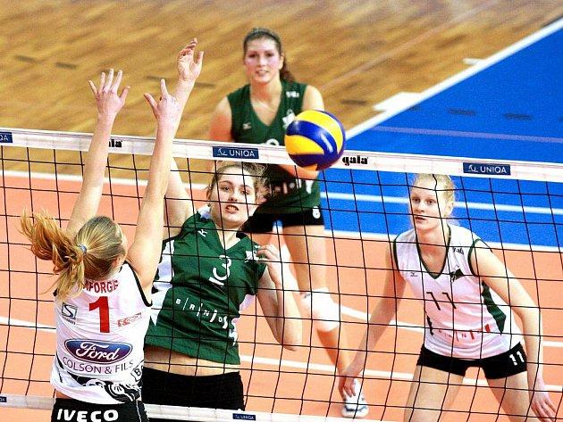 VK KP Brno – Dauphines Charleroi 1:3.