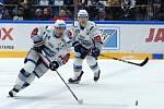 Brno 28.2.2020 - HC Kometa Brno (Tomáš Plekanec a Rudolf Červený) - Bílí Tygři Liberec