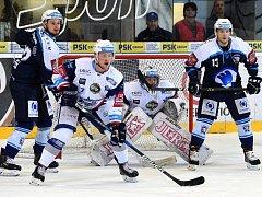 Hokejisté Brna si vezou z Plzně tři body po výhře 4:2. Ilustrační foto
