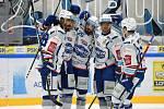 Brno 26.1.2020 - domácí HC Kometa Brno v bílém proti HC Litvínov
