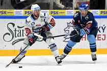 Brno 1.12.2019 - domácí HC Kometa Brno v bílém proti Rytíři Kladno