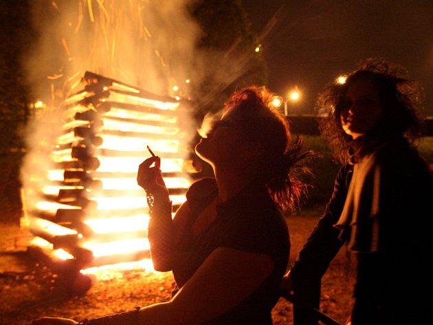 Z festivalu Čarodějáles.
