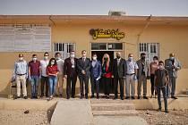 V Sinjaru zničeném Islámským státem Charita postavila dvě kliniky.