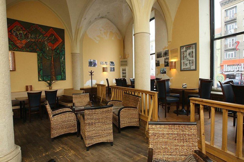 Restaurace [mju:z] v Brně.