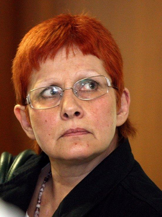 Renáta Škrlová, matka Barbory.