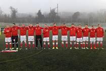 V přátelském zápase malé kopané přehráli čeští reprezentanti do 21 let soupeře ze Slovenska 4:2.