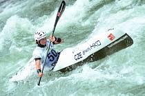 Vodní slalomářka Martina Satková.