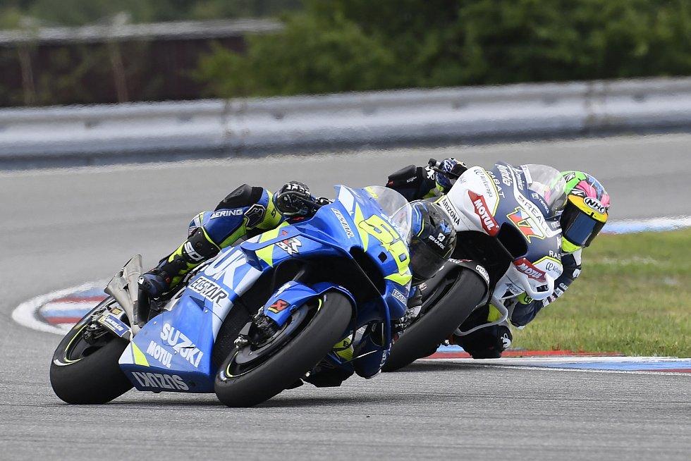 Brno 04.08.2019 - Moto GP 2019 - Sylvain Guintoli a Karel Abraham