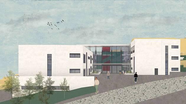 Studenti navrhli onkologické centrum v Brně.