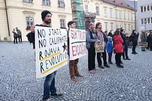 Demonstrace v Brně