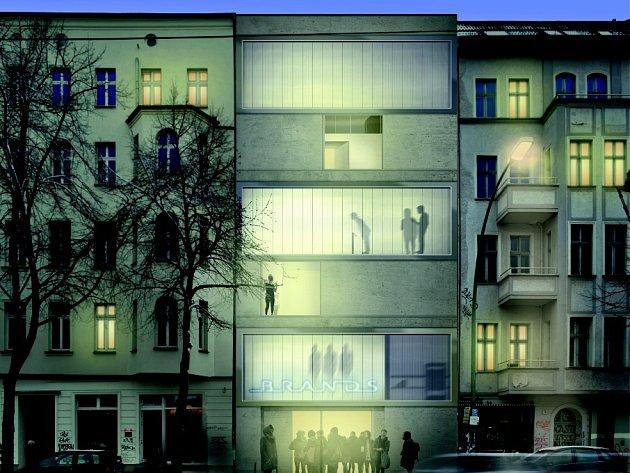 Z výstavy Město. Berlín-Brno.