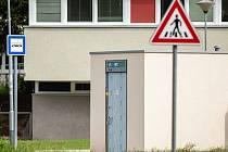 Nové veřejné toalety u dětského dopravního hřiště Pastviny v brněnském Komíně.