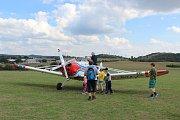 Na brněnském medláneckém letišti se již poosmé konala akce s názvem Oldtimer Medlánky. Létalo se