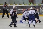 Kometa Brno (v bílém) podlehla Slovanu Bratislava 2:5.