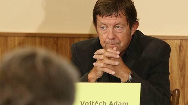 Lídr jihomoravských komunistů Vojtěch Adam.